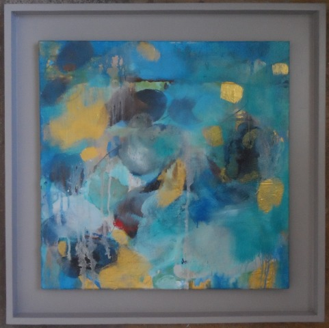 haldane-rhythm-blues-64cm-x-64cm-x-3cmfloat-framed-oil-mixed-media-on-panel