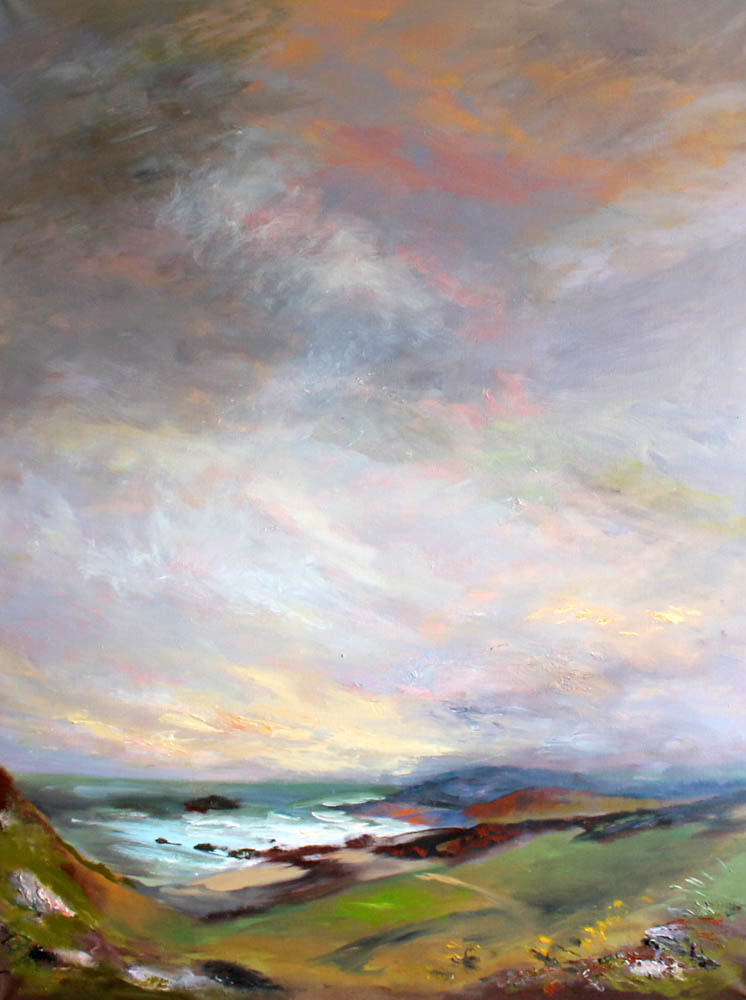 donegal-malin-head-evening-sky-oil-on-canvas-122x90-cm