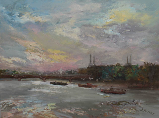 london-battersea-power-station-early-morning-oil-on-canvas-60x81-cm
