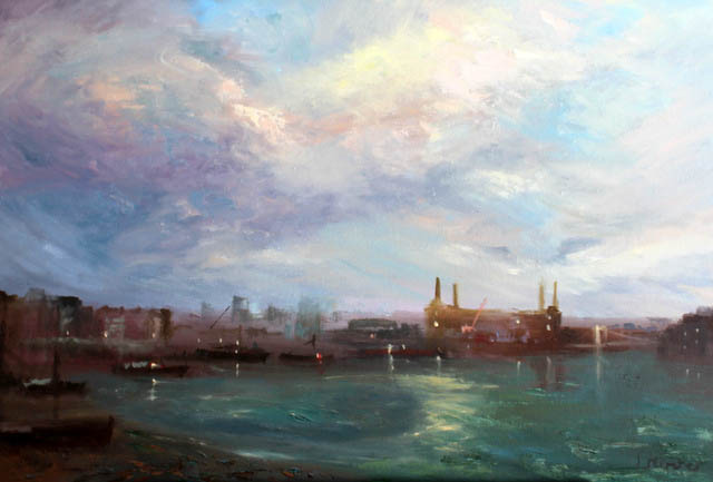 london-battersea-power-station-from-vauxhall-bridge-70x100-cm
