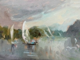 london-sailing-upstream-oil-on-board-20x30-cm